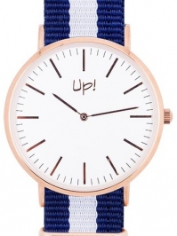 Up! Watch Up! Watch Rose Gold Slim Case Saat