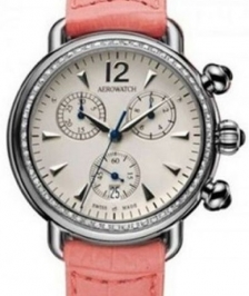 Aerowatch Ladies Chronographe 1942 Taşlı