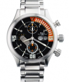 Ball DC1028C-S1J-BKOR Engineer Master Ii Diver Chronograph