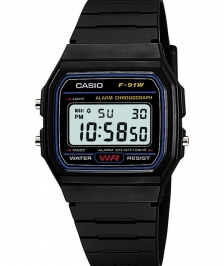 Casio Retro F-91w-1dg