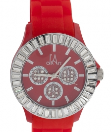 d'Arc Silver Red Glam Saat