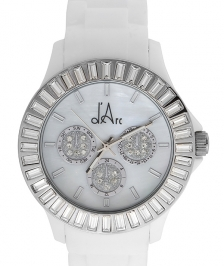 d'Arc Silver White Glam Saat
