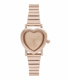 Forever New WW0313-Lovely Stretch Band Watch/Rose Gold Saat