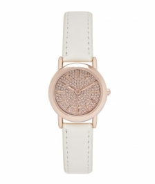 Forever New WW0329-Gemma Pave Face Watch/Rose Gold Saat