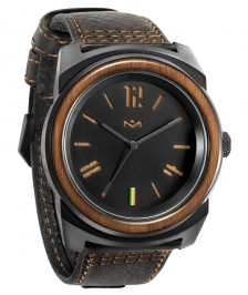 House of Marley Capsule Deri Midnight Saat