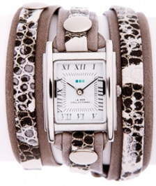 La Mer Collection Cement Snake Layer Wrap Saat