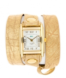 La Mer Collection Gold Sparkle Wrap Saat