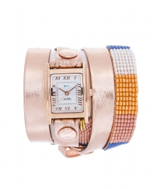 La Mer Collection Rose Gold-Orange Saat