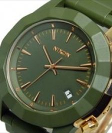 Nixon A288-1419 - Nixon Monarch All Surplus / Rose Gold -