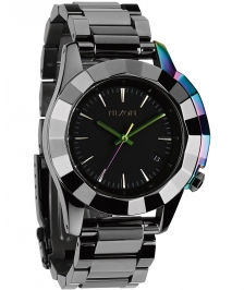 Nixon A288-1698 - Nixon Monarch Gunmetal / Multi - A288 16