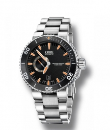 Oris DIVING Aquis Small Second, Date