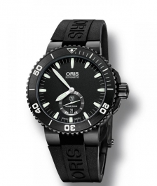 Oris DIVING Aquis Titan Small Second, Date