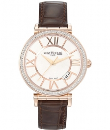 Saint Honore 766012 8YRR Opera Medium Rose Eclair Dial