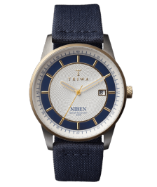 Triwa NIST104D Duke Niben Navy Canvas C.