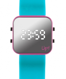 Up! Watch Pink&turquoise