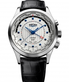 Vulcain 100135.217LF Aviator Gmt 2009 - Steel